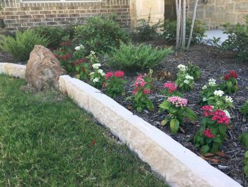 landscaping flower beds and gardens in coppell texas